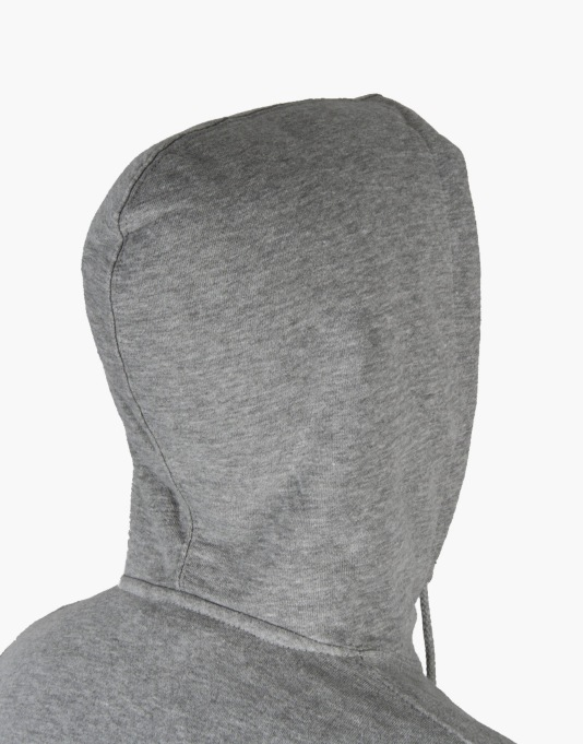 Undefeated Strike Undefeated Basic Pullover Hoodie - Grey Heather