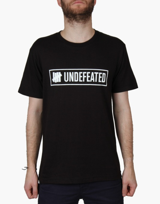 Undefeated Outline T-Shirt - Black