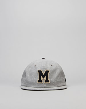 New Era MLB Milwaukee Brewers Retro Pop Snapback Cap - Heather Grey