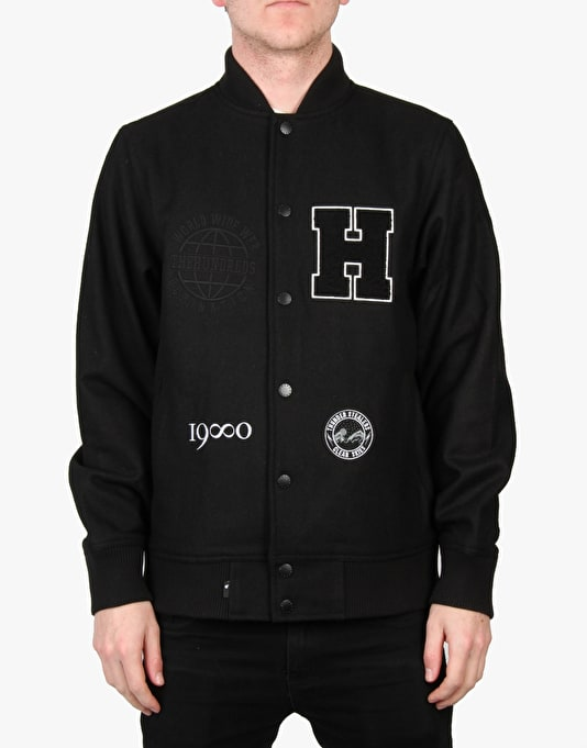 The Hundreds Mash Jacket - Black