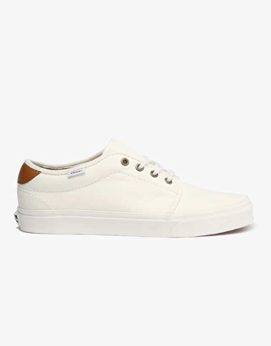 Vans 159 Vulcanized Skate Shoes - (T&L) White