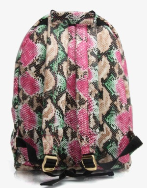 Mi-Pac Gold Rattlesnake Backpack - Green/Pink