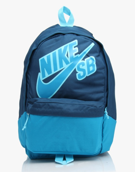 Nike SB Piedmont Backpack - Blue Force/Clearwater (Light Blue Liquor)