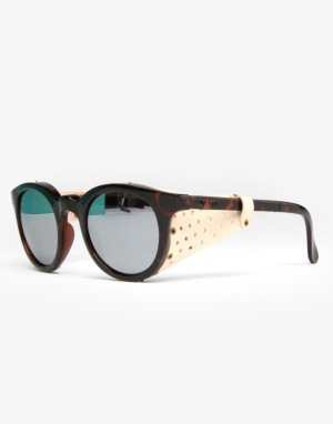 Sunpocket Glacier Folding Sunglasses - Tortoise