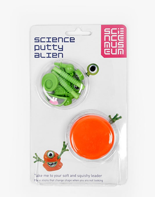 Science Museum Putty Alien