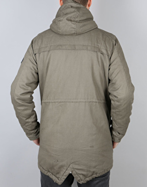 Globe Goodstock Fish Tale II Parka Jacket - Army