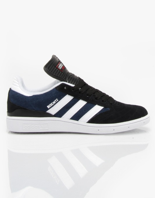Adidas Busenitz Pro Skate Shoes - Core Black/Blue/White