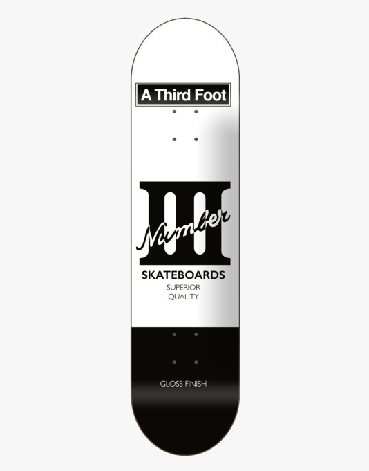 A Third Foot Card Team Deck - 8.25""