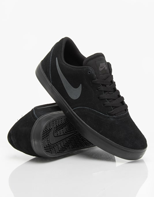 Nike SB Check Skate Shoes - Black