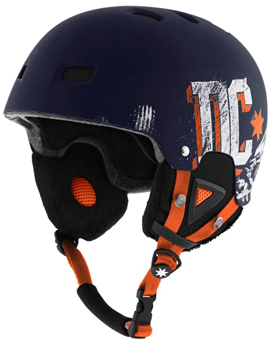 DC Unleashed 2015 Snowboard Helmet - Dress Blue