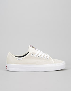 Vans AV Classic Pro Skate Shoes - (Acid Wash) White