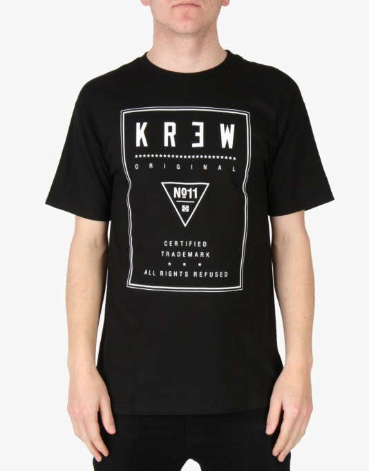 Kr3w Label T-Shirt - Black