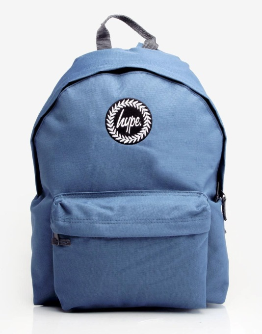 Hype Logo Backpack - Air Force Blue