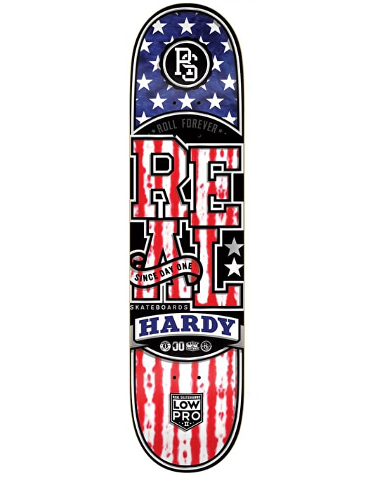 Real Hardy 'Merica Low Pro II Pro Deck - 8.25""