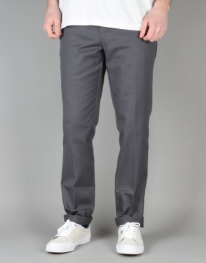 Dickies 872 Slim Tapered Work Pants - Charcoal