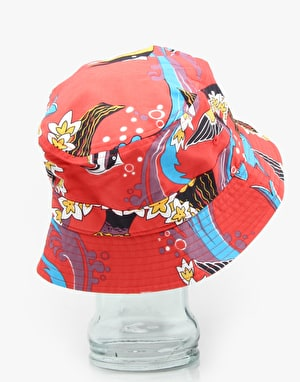 Patagonia Wavefarer Bucket Hat - Paradise Fish/Turkish Red