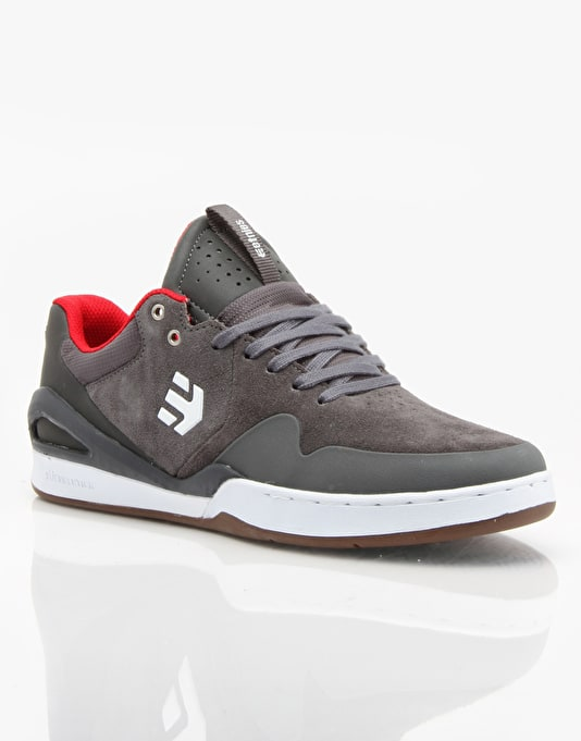 Etnies Marana Elite (Ryan Sheckler) Skate Shoes - Grey/Red/White