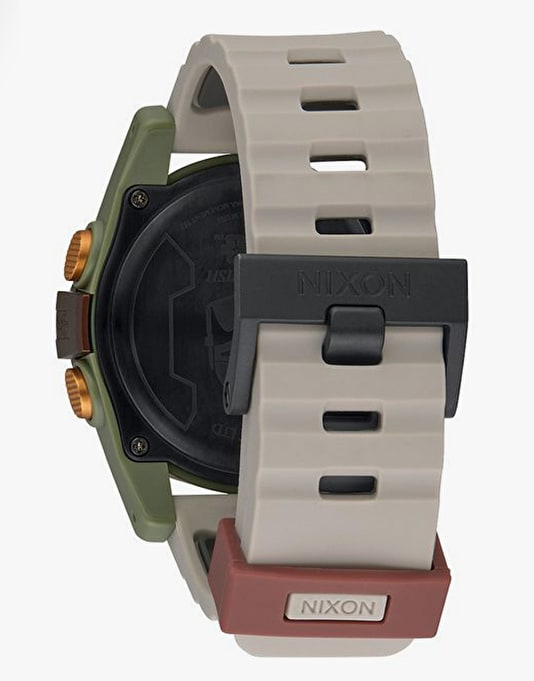 Nixon x Star Wars Unit Watch - Boba Fett Red/Grey