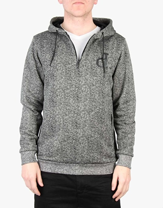 Diamond Supply Co. Un Polo Tech Pulllover Hoodie - Heather Grey