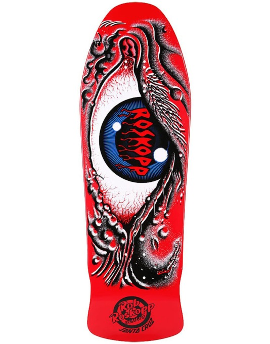 Santa Cruz Roskopp Eye Retro Pro Deck - 10""