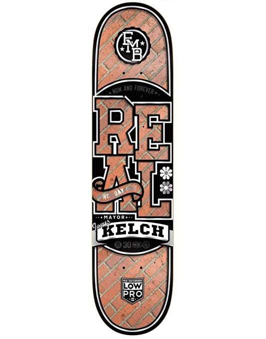 Real Kelch EMB Low Pro II Pro Deck - 8.25""