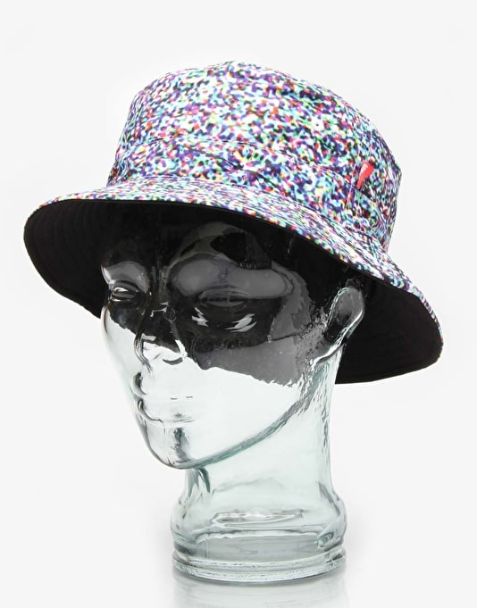 Asphalt Yacht Club Riot Blackout Bucket Hat - Multi