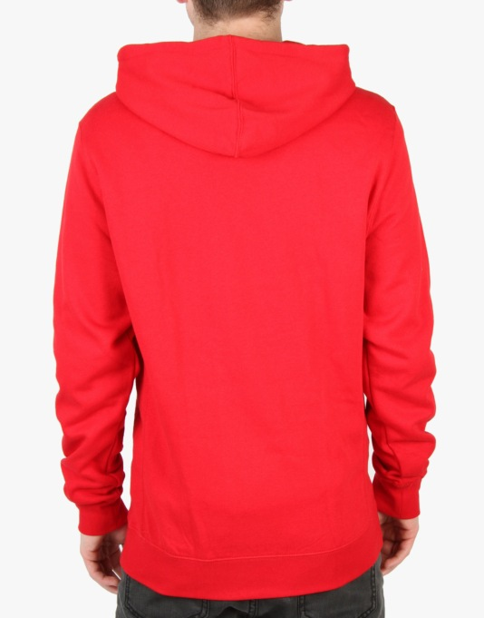 Diamond Supply Co. White Sands Hoodie - Red