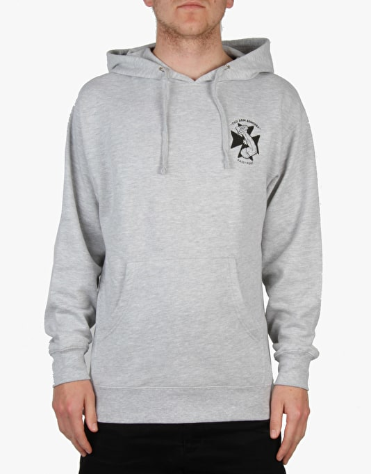Pass Port Arm Bender Pullover Hoodie - Heather