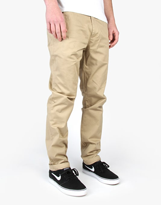 WeSC Eddy Chinos - Corn Stalk
