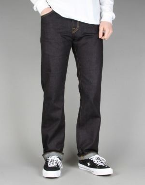 Carhartt Davies Pant 'Otero' Blue Denim - Blue Rigid