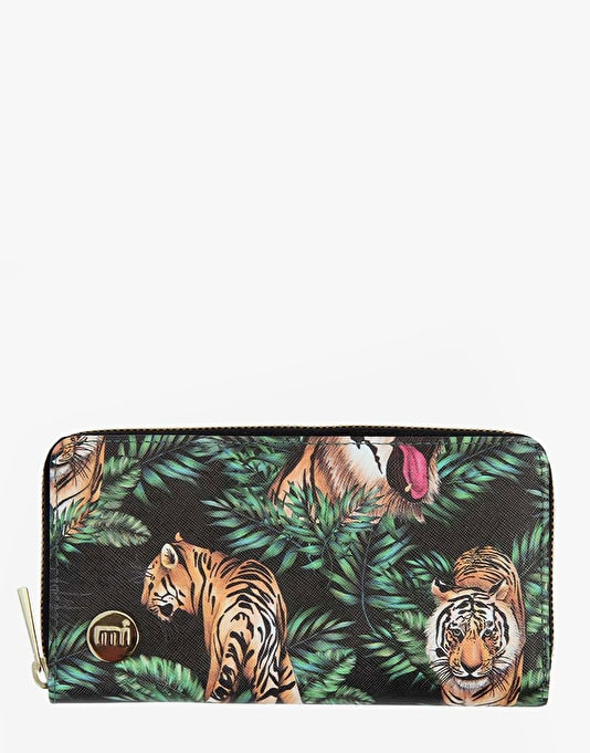 Mi-Pac Zip Purse - Jungle Tigers