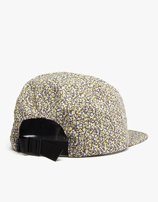 HUF x Liberty Pepper Volley 5 Panel Cap - Yellow/Green