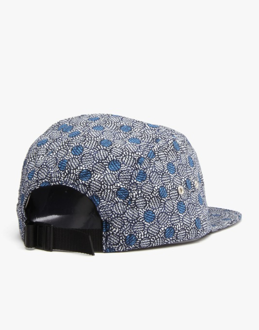 HUF x Liberty Achilles Volley 5 Panel Cap - Blue