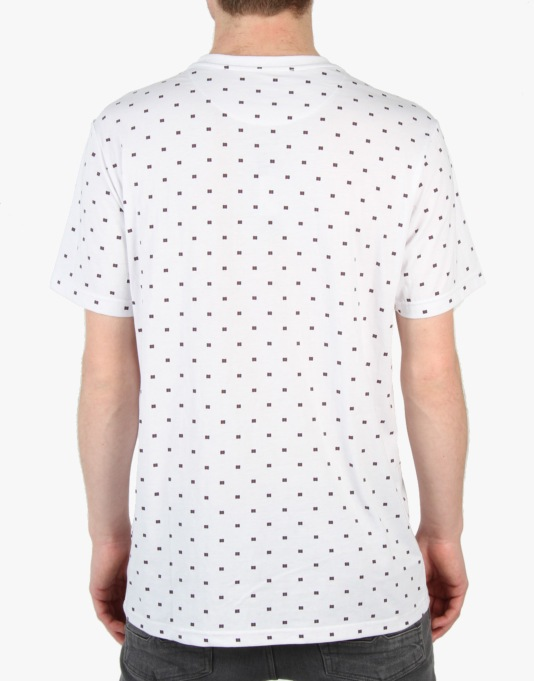 DC All Over Crew T-Shirt - White Micro