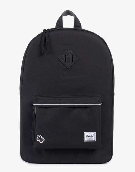 Herschel Supply Co. Hounds Collection Heritage Backpack - Black/Grey