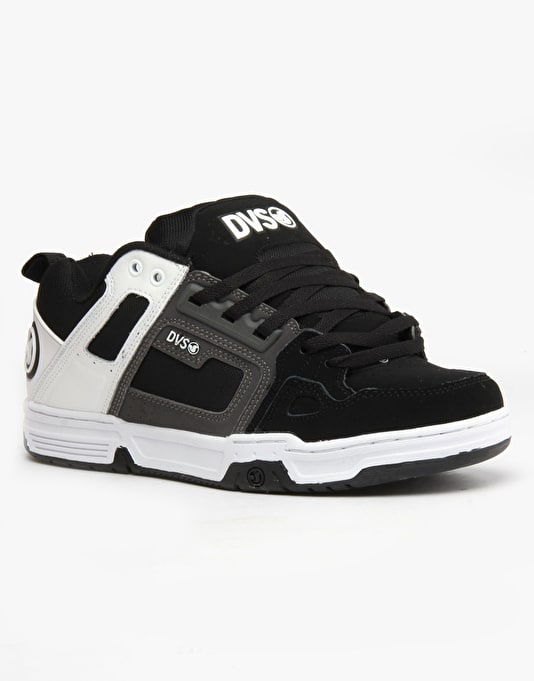 DVS Commanche Skate Shoes - Black True Buck Leather