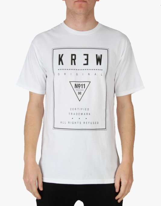 Kr3w Label T-Shirt - White