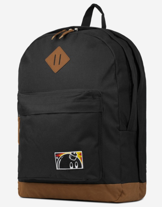 The Hundreds Forever Jon Backpack - Black/Leather