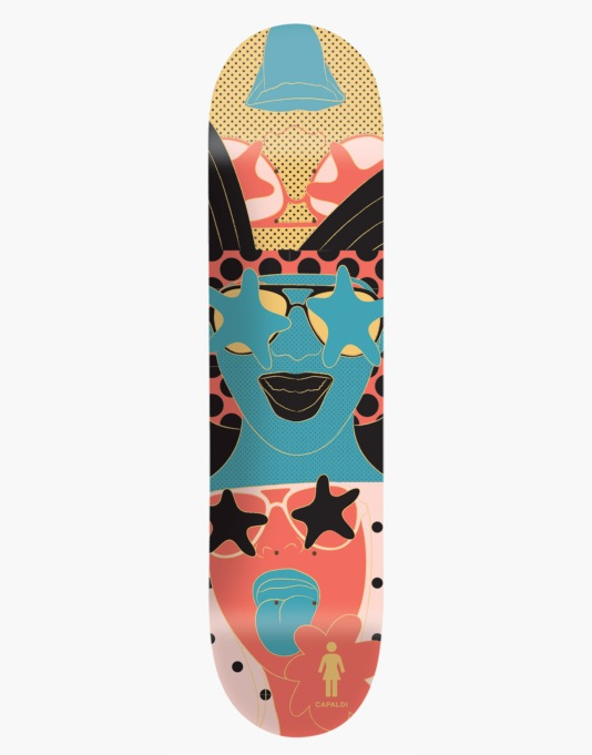 Girl x Michael Leon Mike Mo Starstruck Pro Deck - 8""