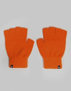 Grizzly Fingerless Gloves - Orange