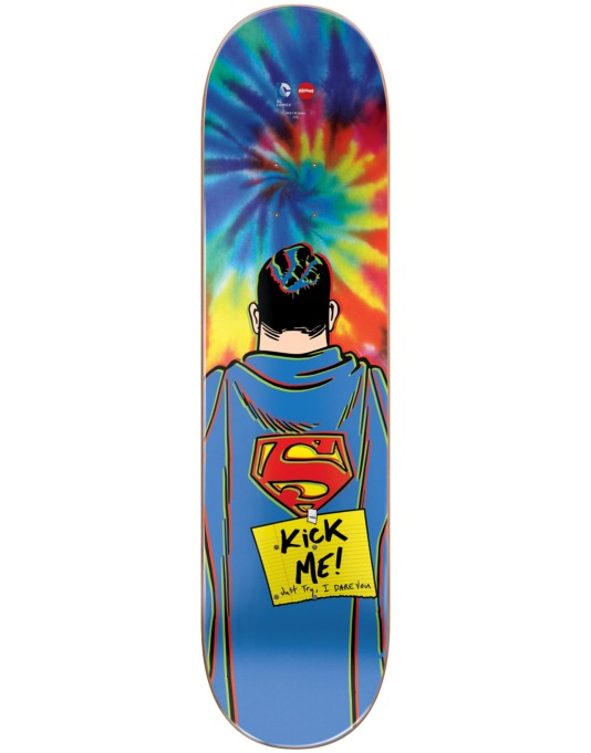 Almost x DC Comics Mullen Superman Tie Dye Pro Deck - 8""