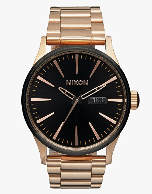 Nixon x Primitive Sentry SS Watch - Rose Gold/Primitive