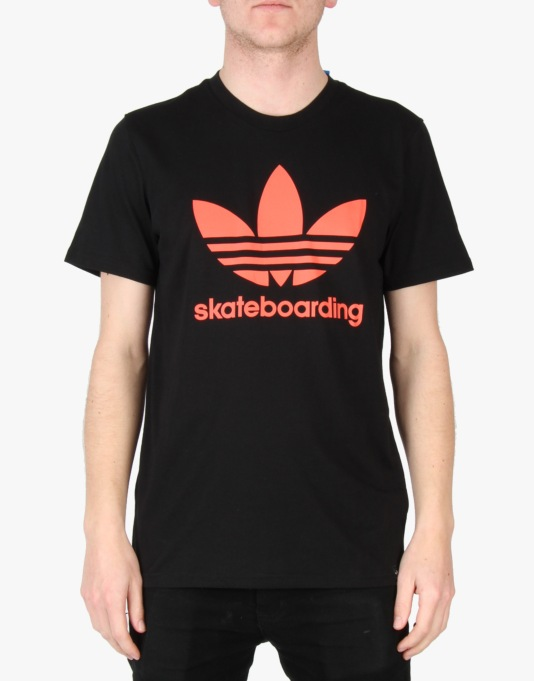 Adidas ADV Solar T-Shirt - Black/Solar Red