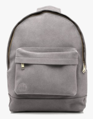 Mi-Pac Gold Suede Backpack - Light Grey