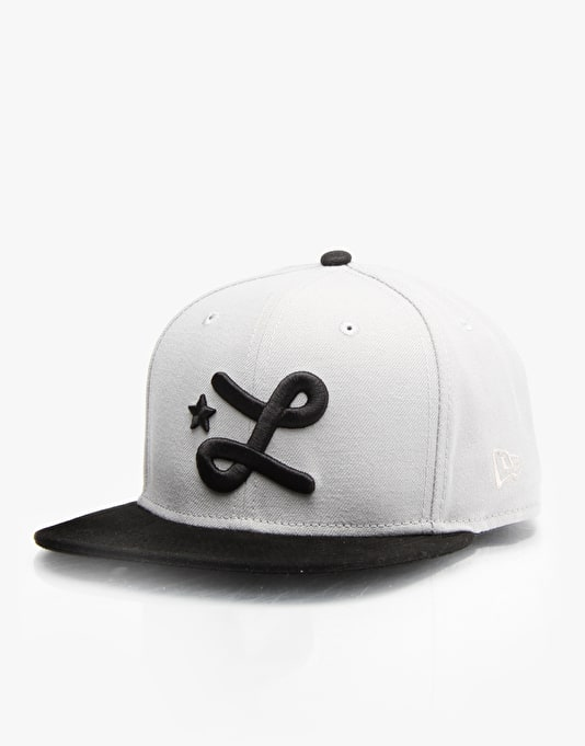 LRG Team L Snapback Cap - Grey