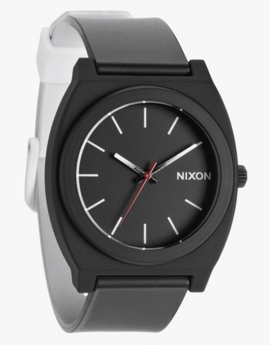 Nixon Time Teller P Watch - Black/White Fade