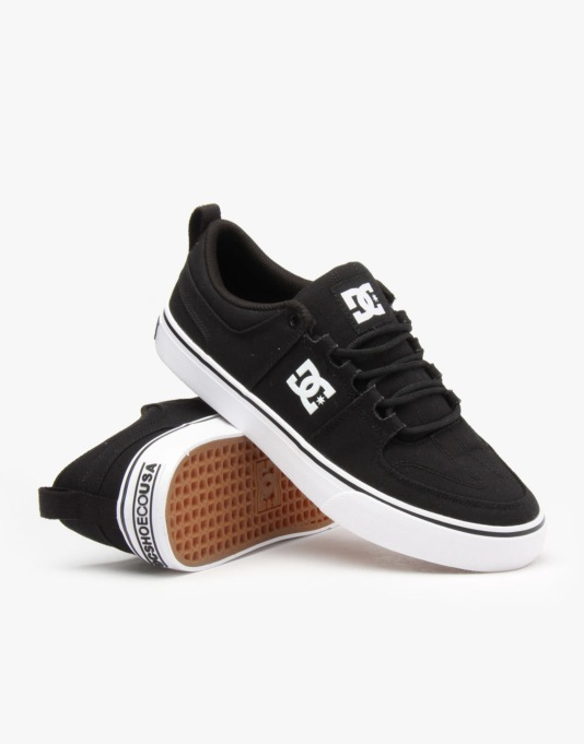 DC Lynx Vulc TX Skate Shoes - Black