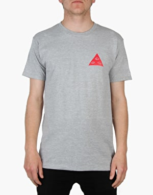 Welcome Talisman Tri-Colour T-Shirt - Heather/Red/Yellow
