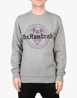 The Hundreds Houser Crew Sweatshirt - Athletic Heather