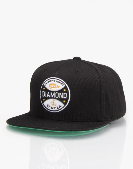 Diamond Supply Co. Diamond Kings Snapback Cap - Black